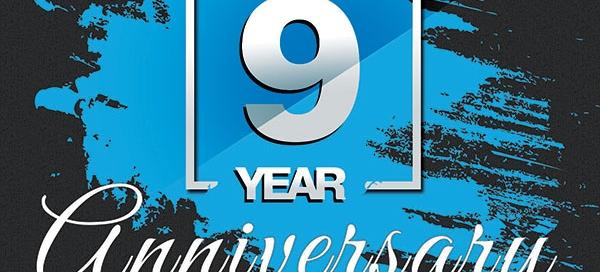 Happy 9th Anniversary Hardboot